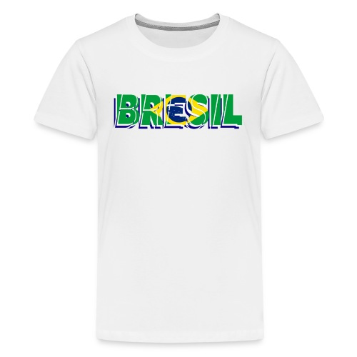 brésil - T-shirt Premium Ado