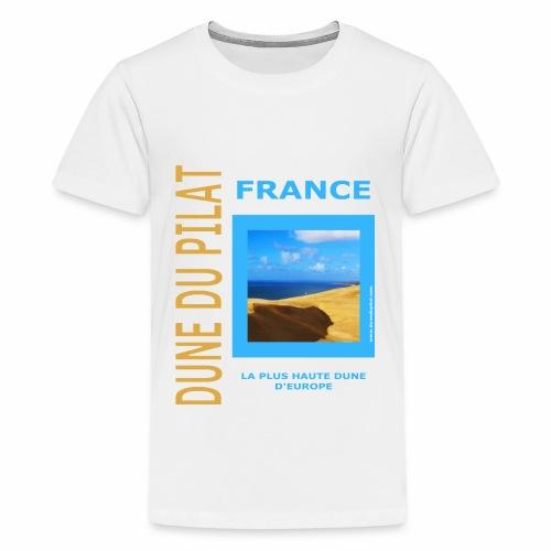 Dune du Pilat - Tshirt, tasses, masque ... - T-shirt Premium Ado