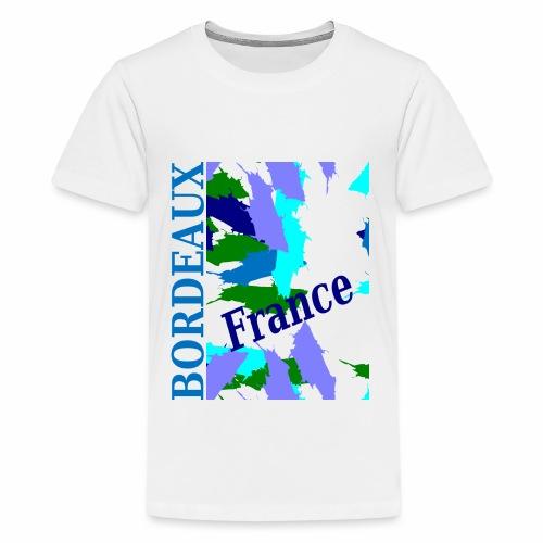 Bordeaux - New design - Teenage Premium T-Shirt