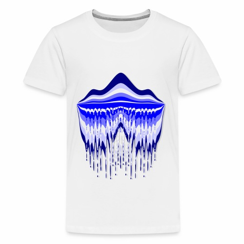 Blue Lagoon - Teenage Premium T-Shirt