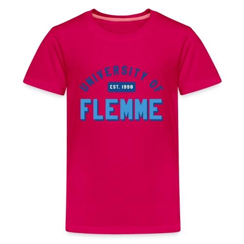 UniversityOfFlemme2 png - T-shirt Premium Ado