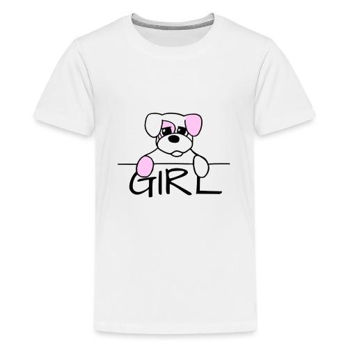 Hondje Girl - Teenager Premium T-shirt