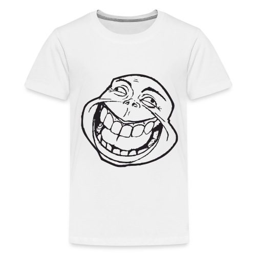 meme face not really by xarity d4es290 png - Teenager Premium T-shirt