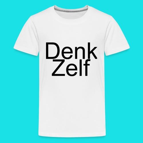 denk zelf - Teenager Premium T-shirt