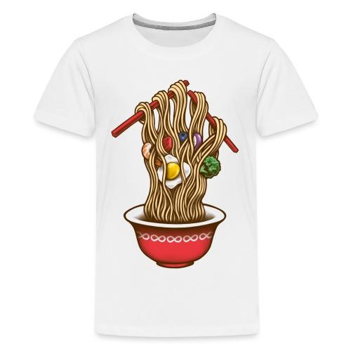Infinity Noodles - Teenage Premium T-Shirt