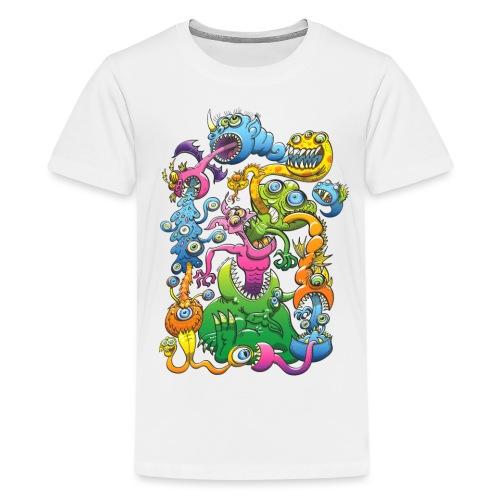 Monstrously Messy - Teenage Premium T-Shirt