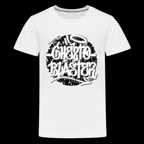 logo ghe2toblaster ...019 - T-shirt Premium Ado
