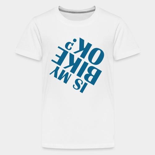 accident de vélo chute - T-shirt Premium Ado