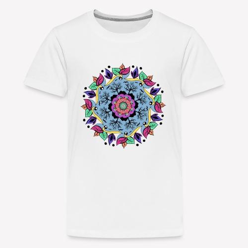 Autumn Mandala - Teenager Premium T-Shirt