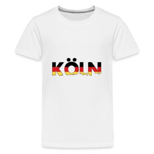 Köln Typografie - Teenager Premium T-Shirt
