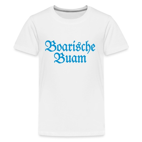 Boarische Buam (Blau) Bayern Männer Jungs - Teenager Premium T-Shirt