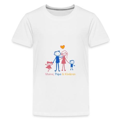 mama papa kinderen - Teenager Premium T-shirt