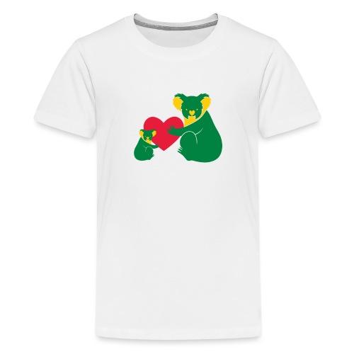 Koala Heart Baby - Teenage Premium T-Shirt