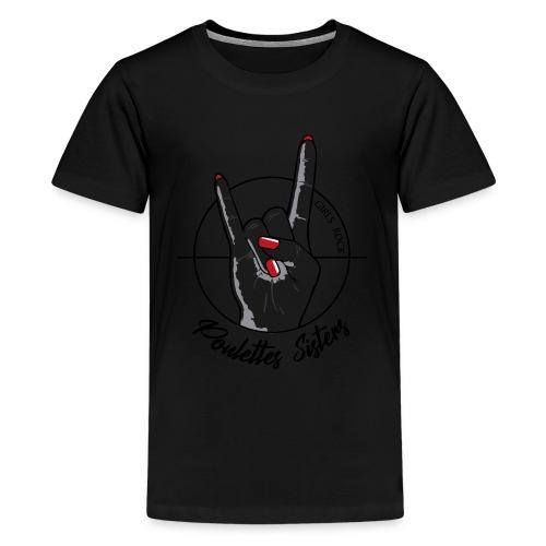 Hell Yeah Hand - T-shirt Premium Ado