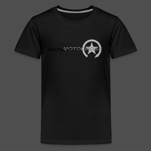 MOTOCROSS - Koszulka młodzieżowa Premium