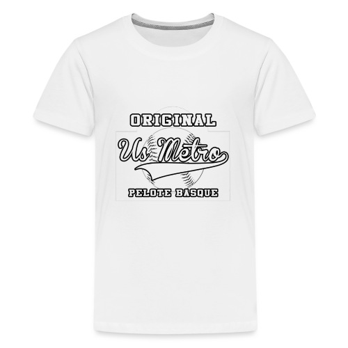 origiinalUSMETRO2 png - T-shirt Premium Ado