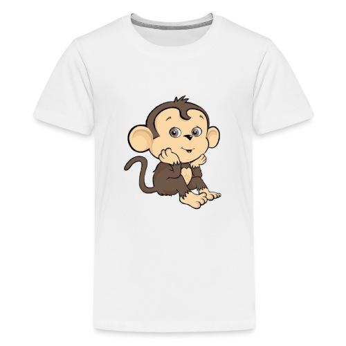 Monkey - Premium-T-shirt tonåring