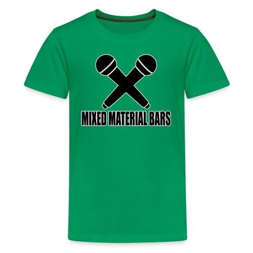 MIXED MATERIAL BARS - Teenager Premium T-Shirt