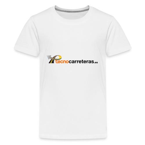 Tecnocarreteras - Camiseta premium adolescente