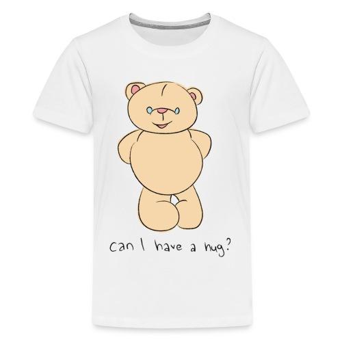 Bear hug - Teenage Premium T-Shirt