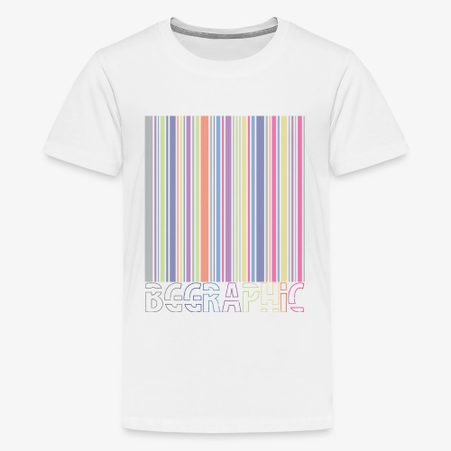 Bar code - Maglietta Premium per ragazzi