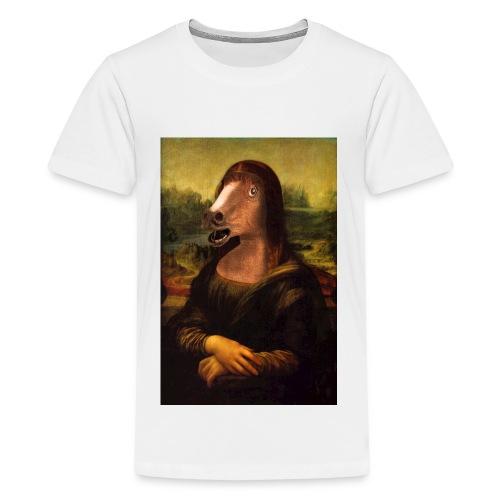 monalisa jpg - T-shirt Premium Ado