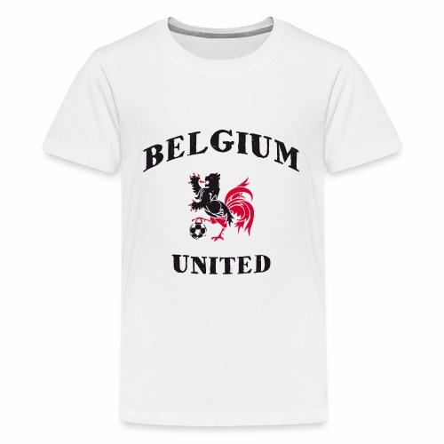 Belgium Unit - Teenage Premium T-Shirt