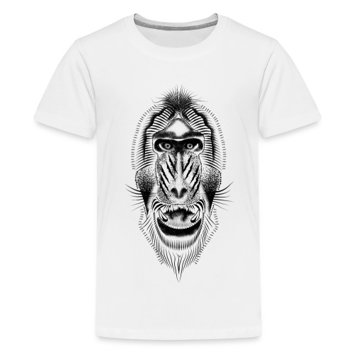 mandrill tattoo - Teenage Premium T-Shirt