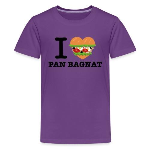 IlovePanBagnat png - T-shirt Premium Ado