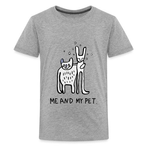 ME AND MY PET T-Shirt für die große Liebe - Teenager Premium T-Shirt