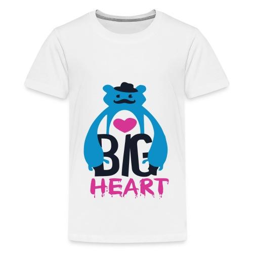 Big Heart Monster Hugs - Teenage Premium T-Shirt