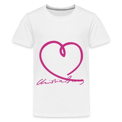 burg autogr4fett - Teenager Premium T-Shirt