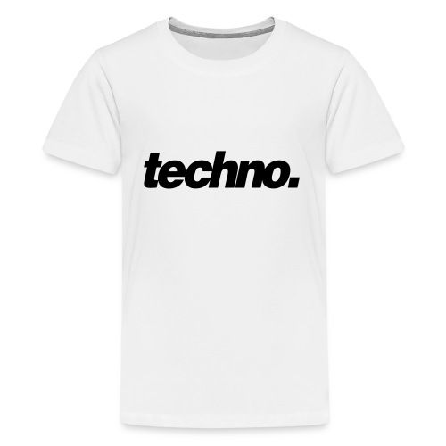 techno. - Teenager Premium T-Shirt