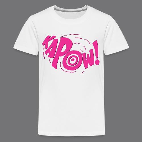 KAPOW Tee Shirts - Teenage Premium T-Shirt
