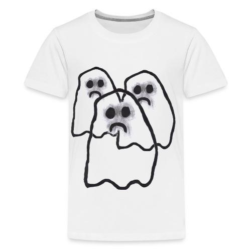Mr S Ghostie - Teenage Premium T-Shirt