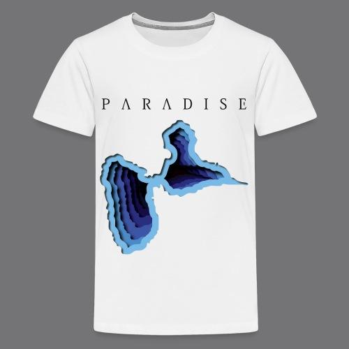 GWADA PARADISE Tee Shirts - Teenage Premium T-Shirt