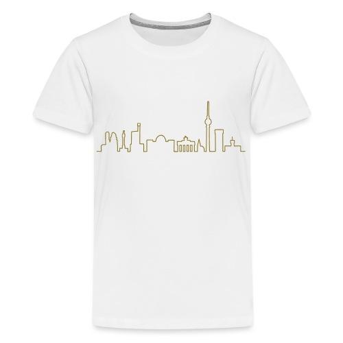 Skyline Berlin - Koszulka młodzieżowa Premium