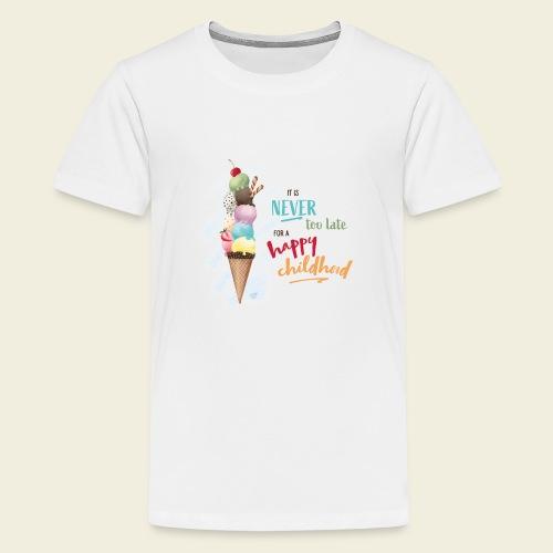Eis - Kindheit - Teenager Premium T-Shirt