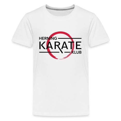 HKK Sort - Teenager premium T-shirt