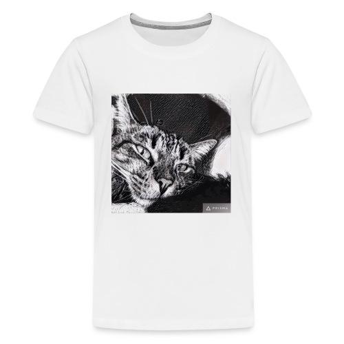 Katze1 - Teenager Premium T-Shirt