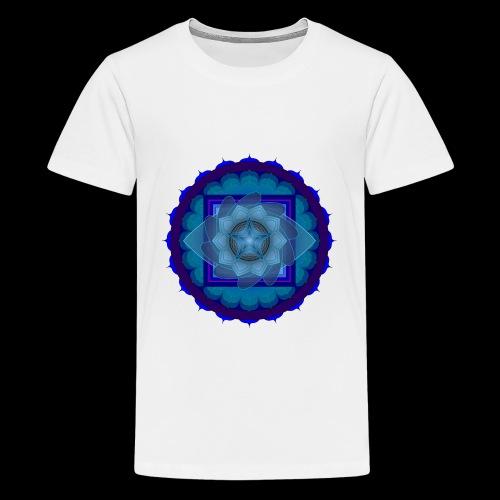mandala 4 - Teenage Premium T-Shirt