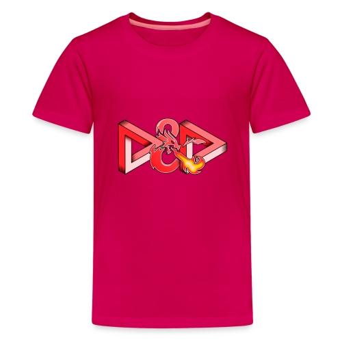 Pysyvät Dungeons and Dragons - dnd d & d - Teinien premium t-paita