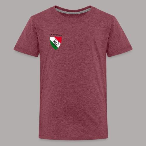 Wappen Struthonia (vorne) - Teenager Premium T-Shirt