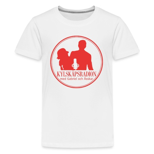 Logga helröd - Premium-T-shirt tonåring