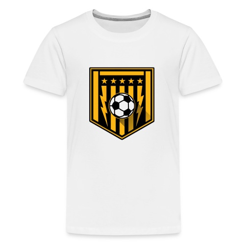 Fussball - Teenager Premium T-Shirt