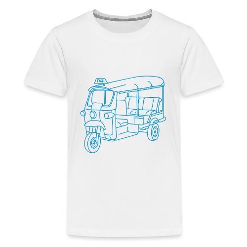 Tuk-Tuk, Taxi aus Indien - Teenager Premium T-Shirt