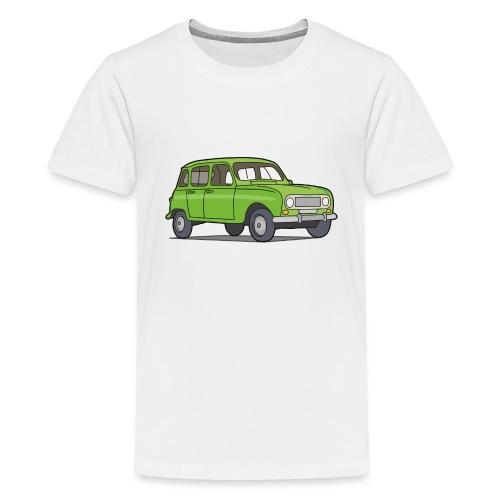 Grüner R4 (Auto) - Teenager Premium T-Shirt