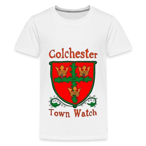 Colchester Town Watch 2 - Teenage Premium T-Shirt