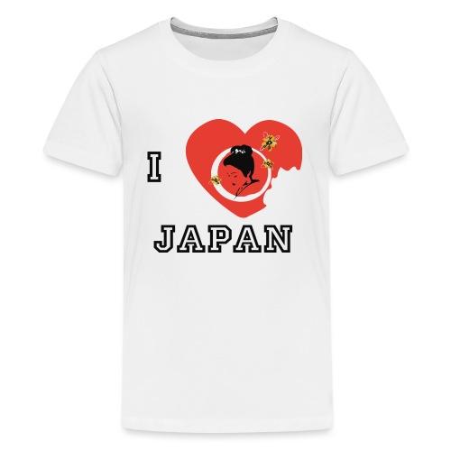 i love japan - T-shirt Premium Ado