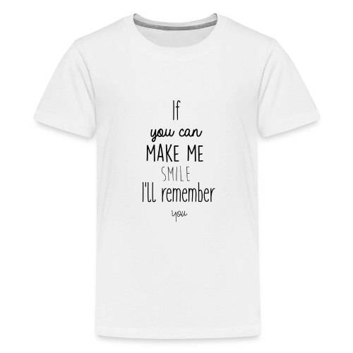 Mug en céramique Gröner Citation anglaise - T-shirt Premium Ado